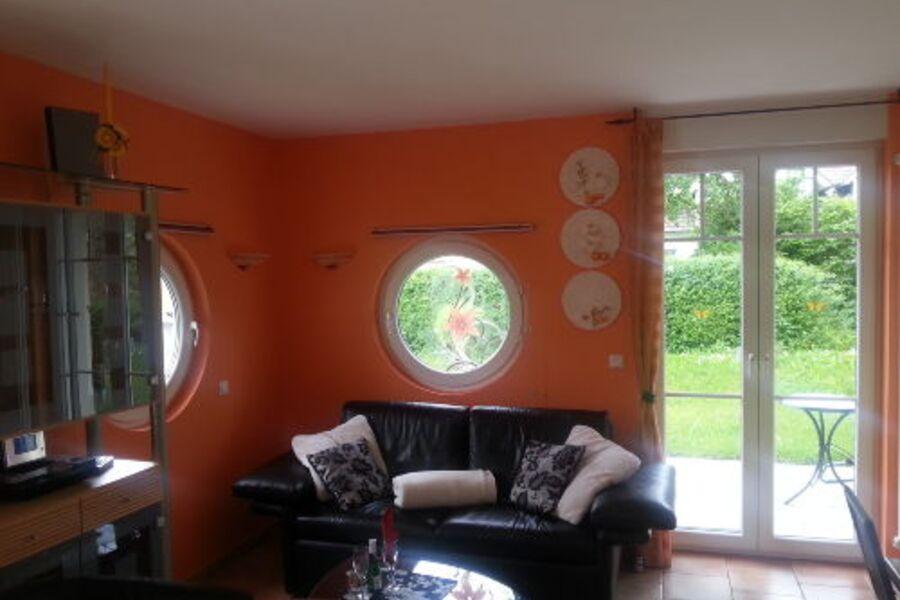 2 Raum Fewo mit zwei Terrassen