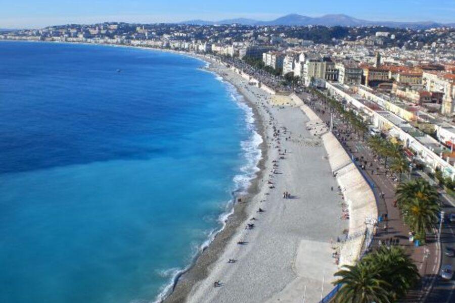 Strand und Promenade des Anglais