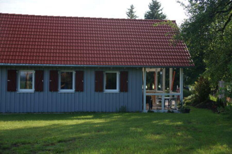 Haus 1 Gartenseite