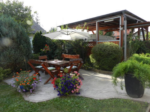 Carport, Essplatz Grill