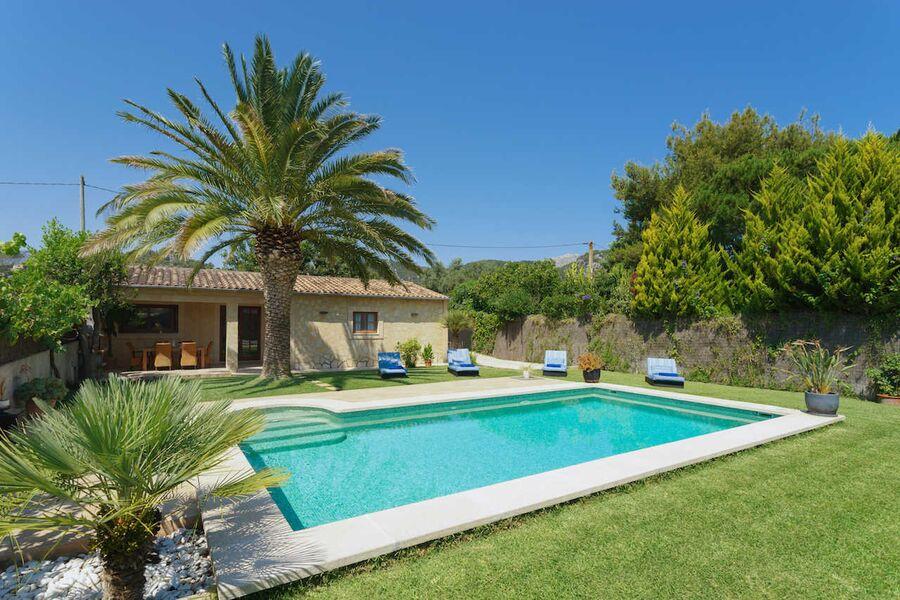 Ferienhaus mit Pool in Pollensa Stadt