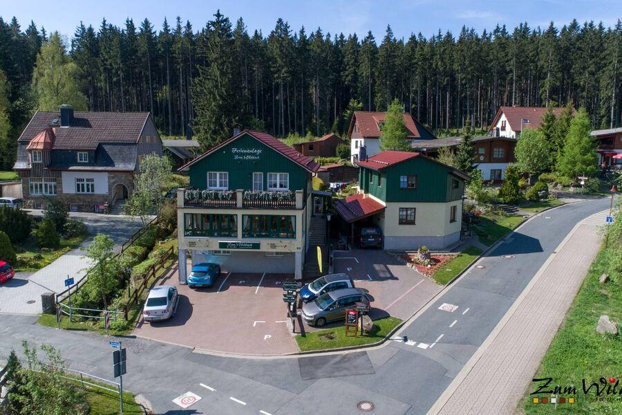 Wildbach von oben-Ihr zuhause auf Zeit