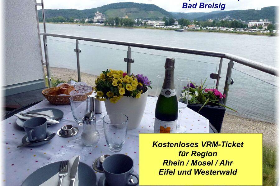 Näher am Rhein geht nicht!