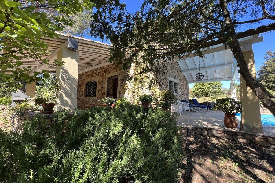 Blick zum Casa Rosmarino