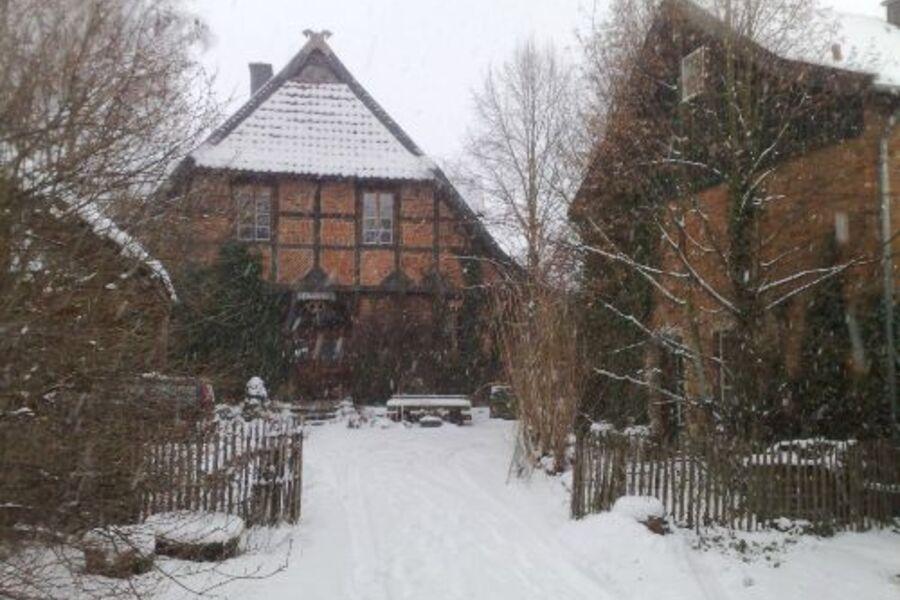 Fachwerkhof Gödringen Winter 2011