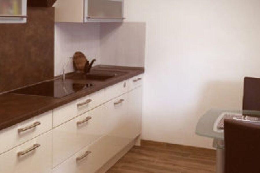 Die Küche bietet reichlich Platz