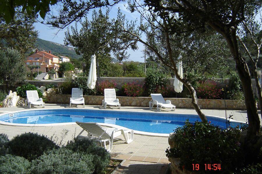 Haus Mirjana,aussen Pool