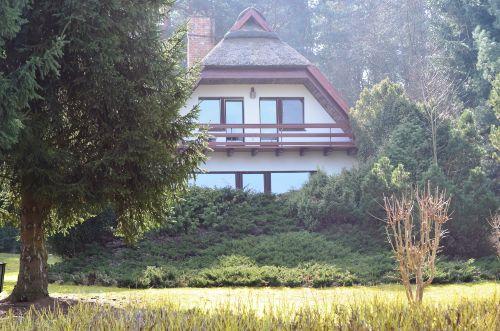 Außenansicht des Ferienhauses in Kolpin