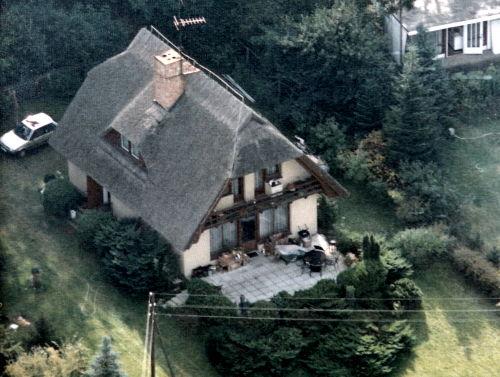 Luftaufnahme vom Landhaus Kolpin
