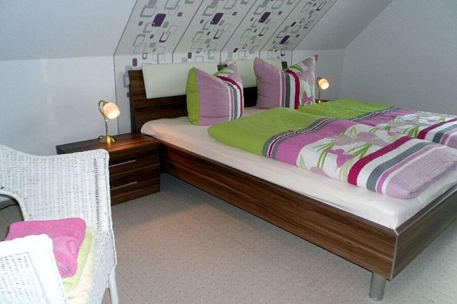 Das 2.Schlafzimmer mit zwei Einzelbetten