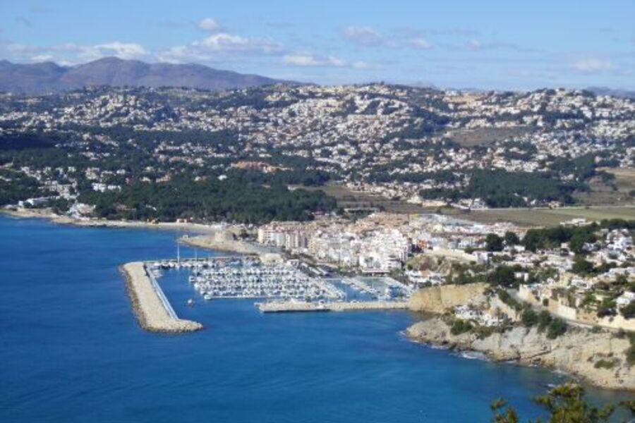 Moraira mit Yachthafen