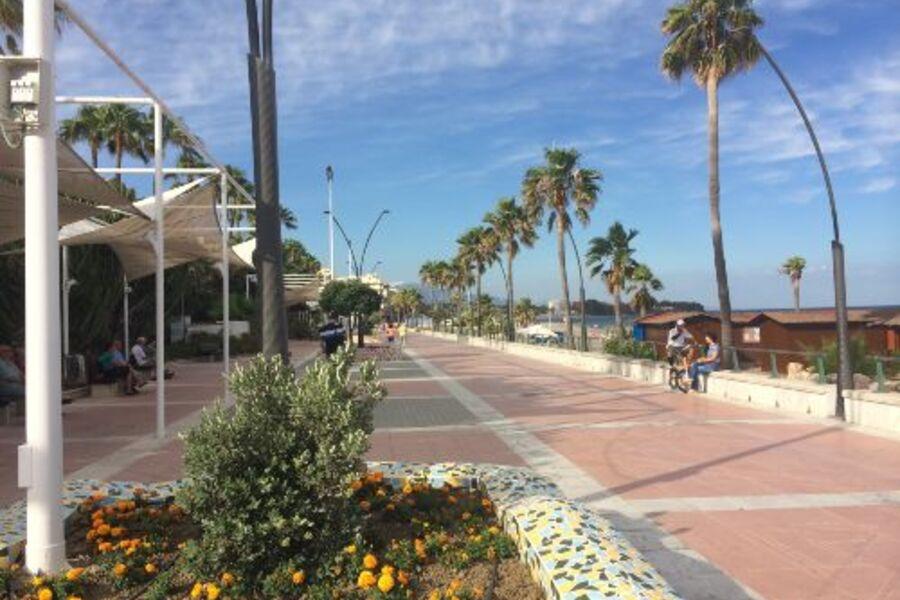 Strandpromenade von Estepona