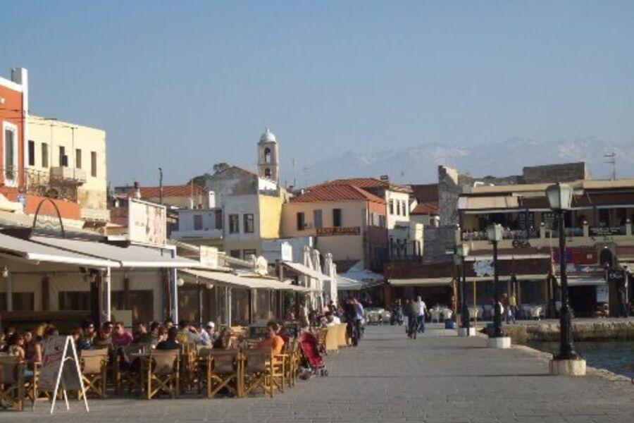 Promenade in Chania