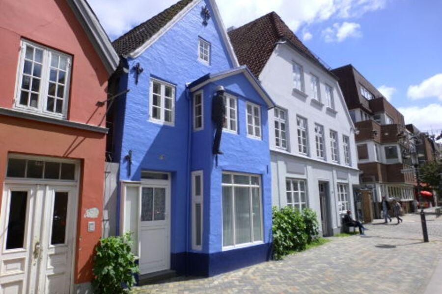 Histor. Kapitänshaus mit FeWo 'Vordeck'