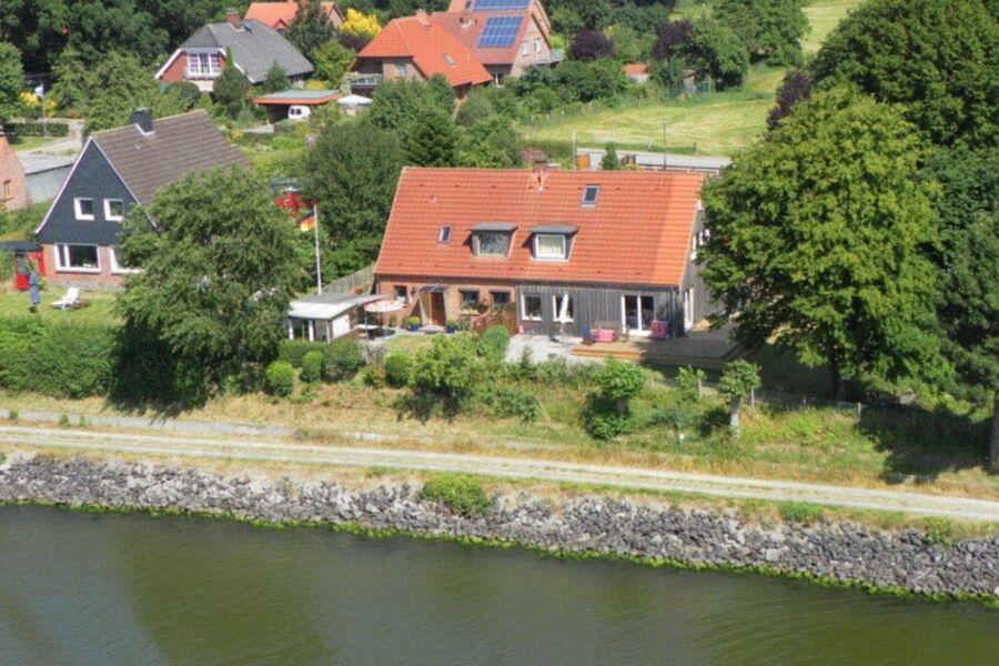 RED Ferienhaus am Nord-Ostsee-Kanal, Ferienhaus am