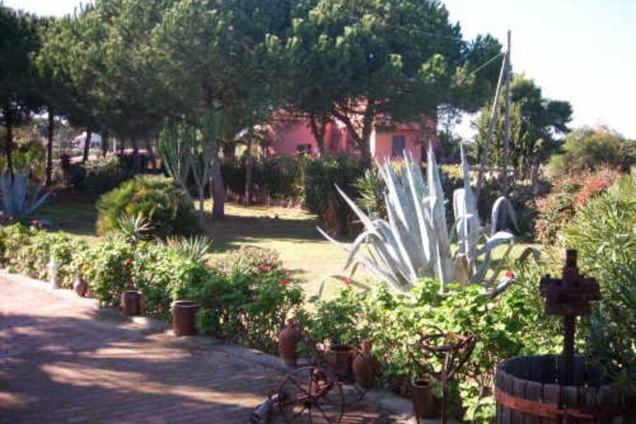 Garten von Casa Claudio