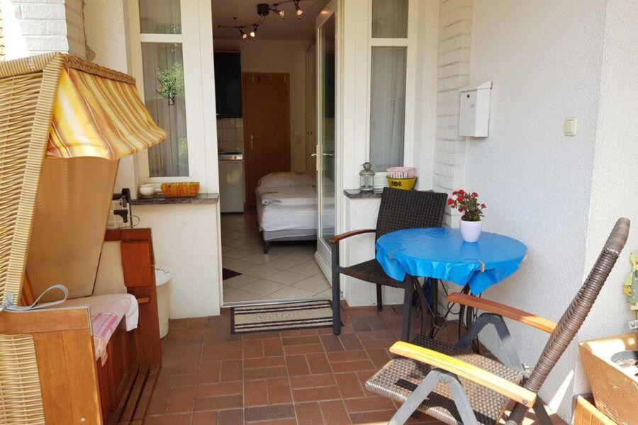 Villa Romantica Appartement - mit überdachter Terr