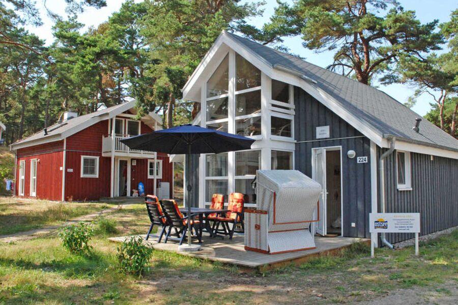 Strandpark Baabe F570 strandnahes Haus 224 mit Ter
