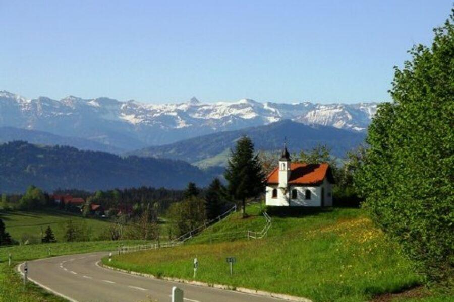 Blick ins Rothachtal, Bregenzer Wald
