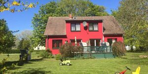 Gutspark Schwarbe mit Reiterhof - Ferienhaus 1, Ferienwohnung 'Schwan' (EG) in Altenkirchen auf Rügen - kleines Detailbild
