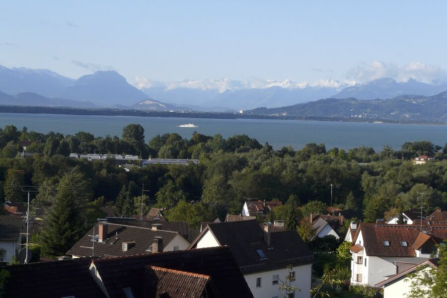 Blick nach Süden ins Rheintal
