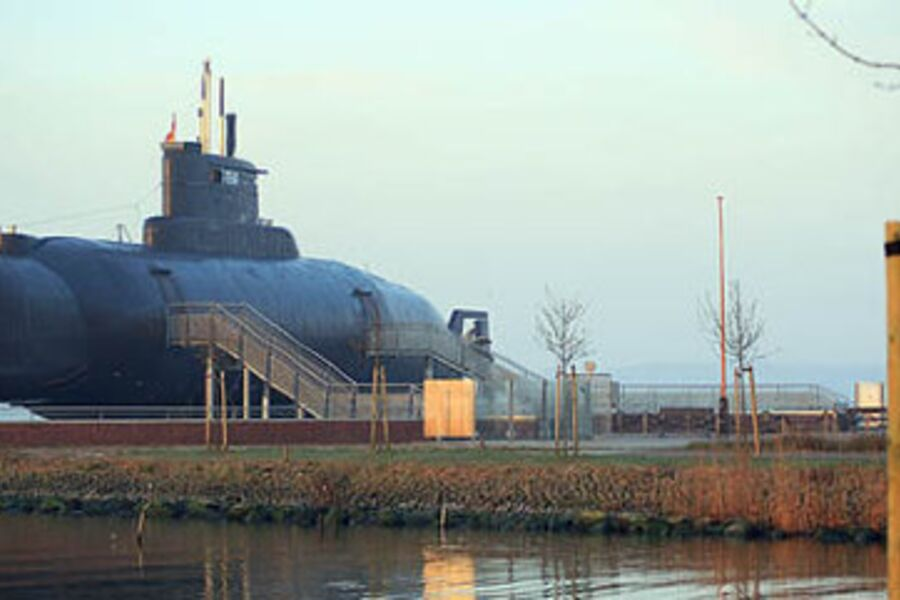 Das U-Boot am Fischereihafen
