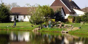 Ferienwohnungen an großem Bade- und Angelteich, Schwalbenwohnung in Mühlen Eichsen - kleines Detailbild