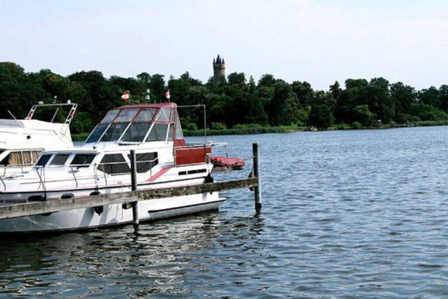 Potsdam: Pension 'Am Tiefen See', Salonzimmer