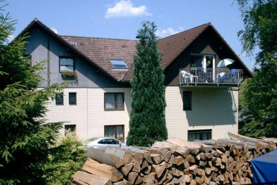 Rückseite des Gästehaus  Ehrenberg