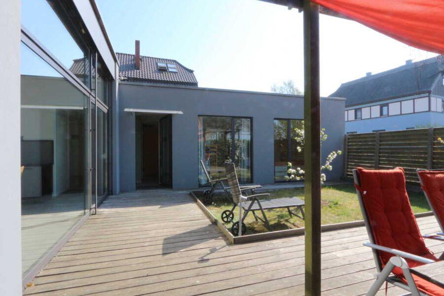 Atriumhaus Struwelpeter - Innenhof