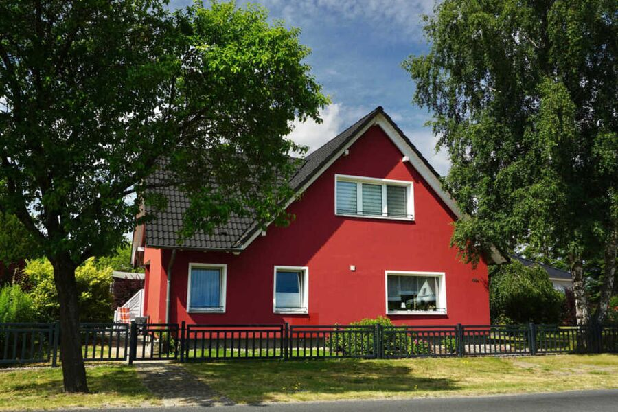 Ferienwohnung im roten Haus, Ferienwohnung