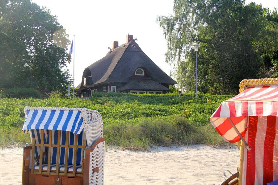 Haus Godewind, direkt am Strand gelegen