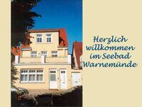 FeWo mit Balkon und Terrasse OG - Objekt 29174, Ferienwohnung OG in Rostock-Seebad Warnemünde - kleines Detailbild