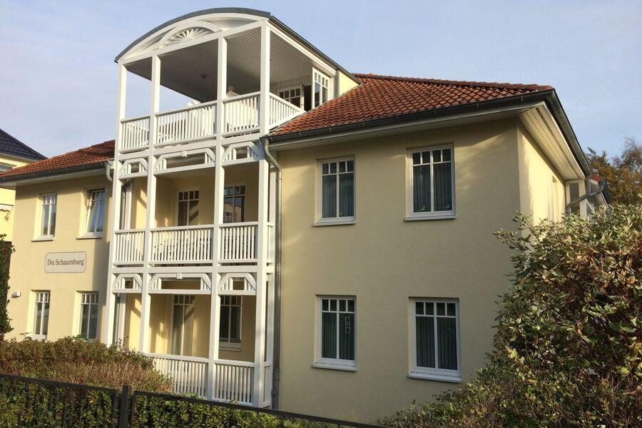 Die Wohnung mit Balkonen im EG und 1.OG