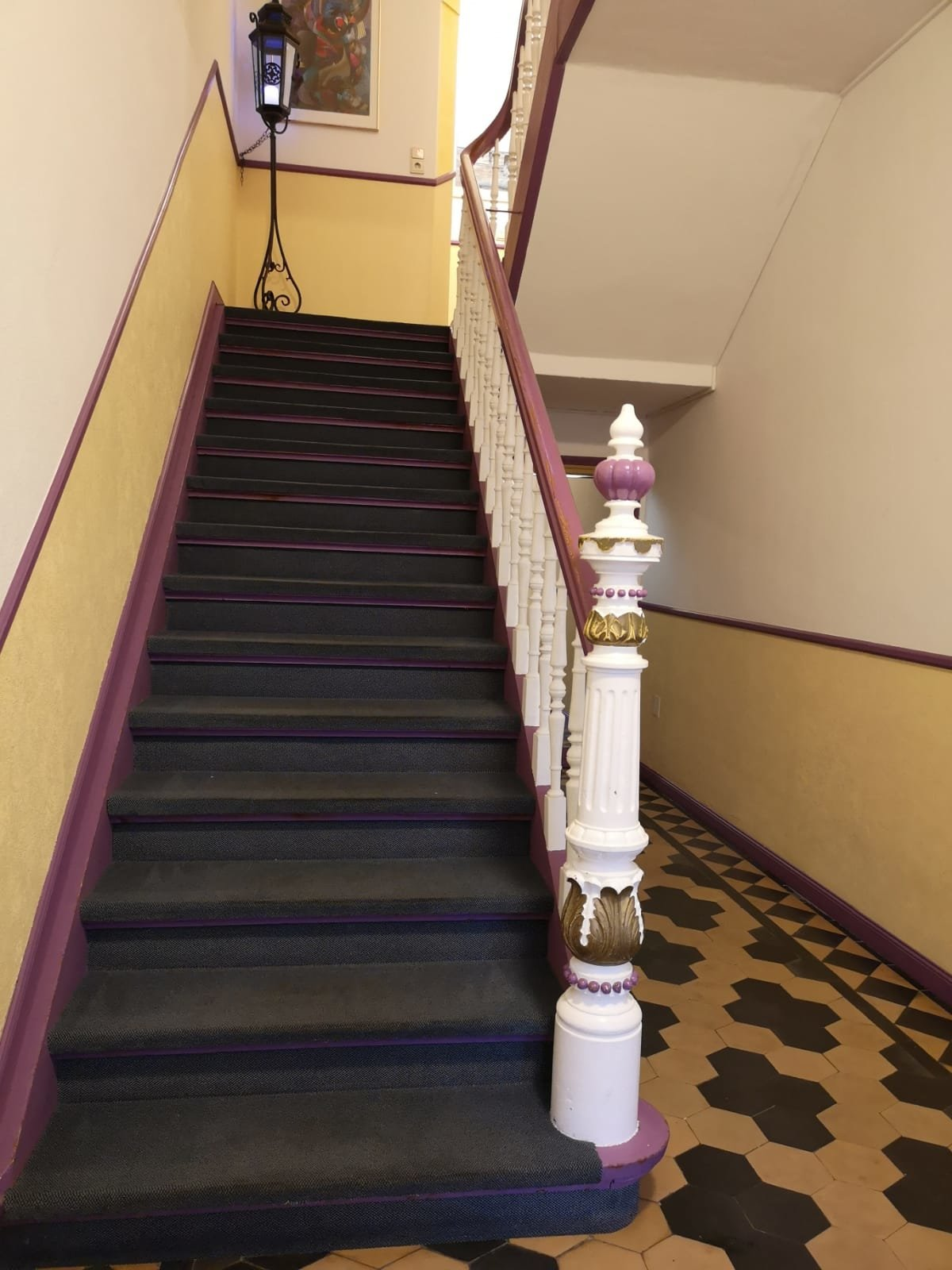 Eingangsbereich Gründerzeit