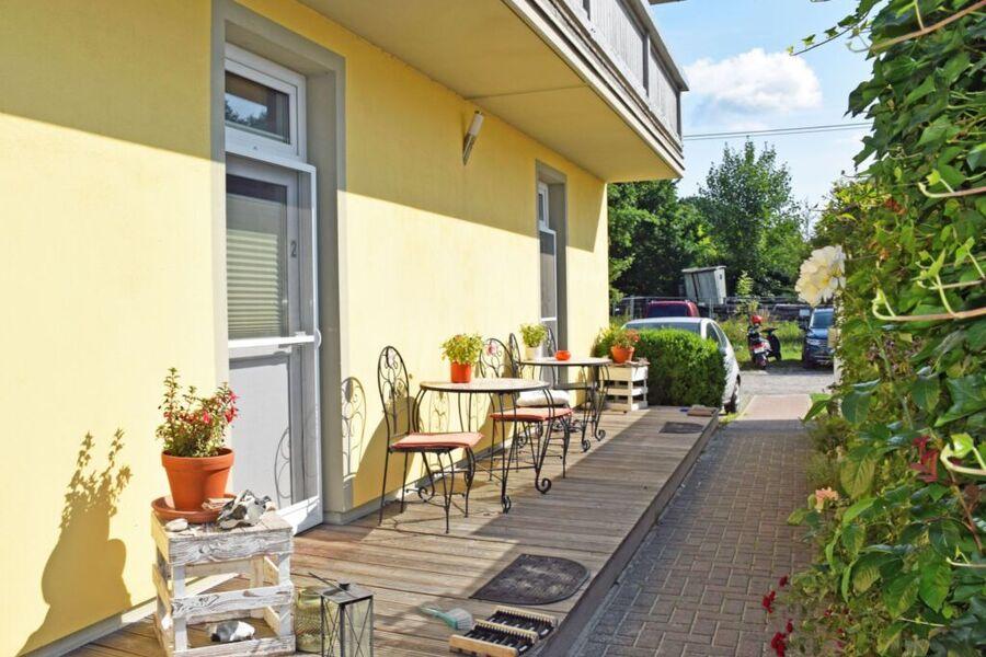 Strandhaus Gartenbereich