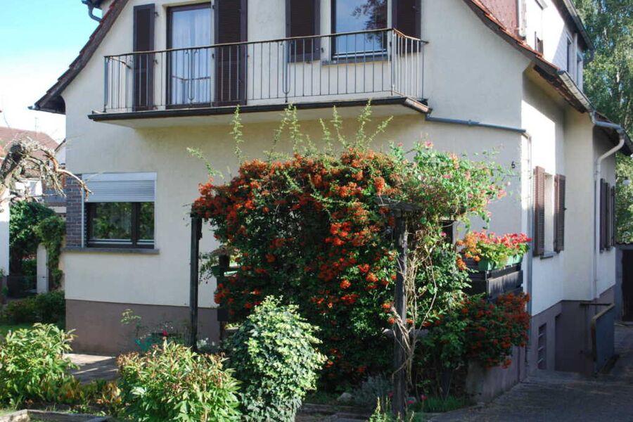 Das Ferienhaus liegt zentral in Michelstadt.