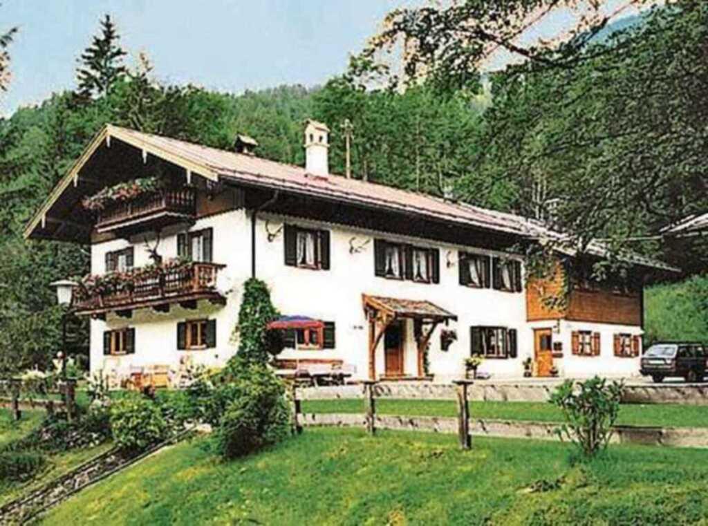Haus Hubertus, Kreuth-Glashütte, Appartement  1 'Kleinsaurüsselthal'
