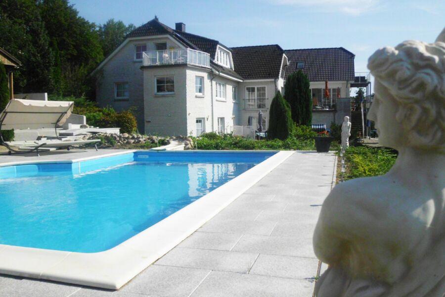 Gästehaus Vogelsang, VO 1; 2-Raum; EG; Terrasse; 4
