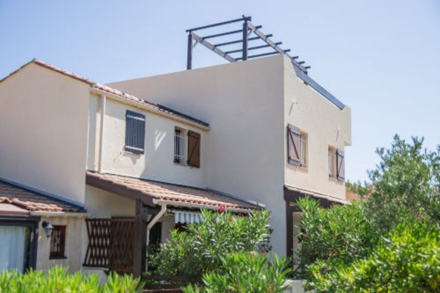 Doppelhaus mit großer Dachterrasse