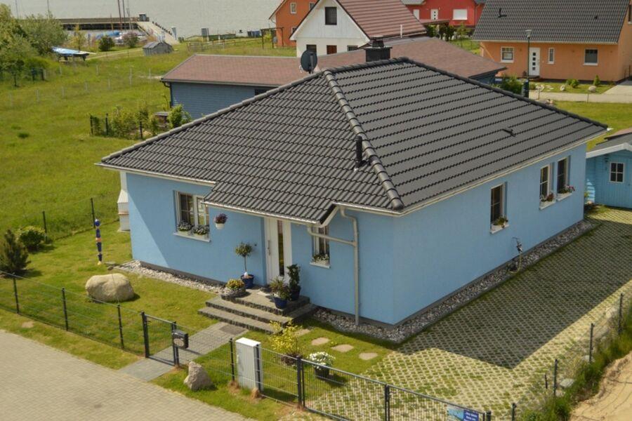Haus von oben