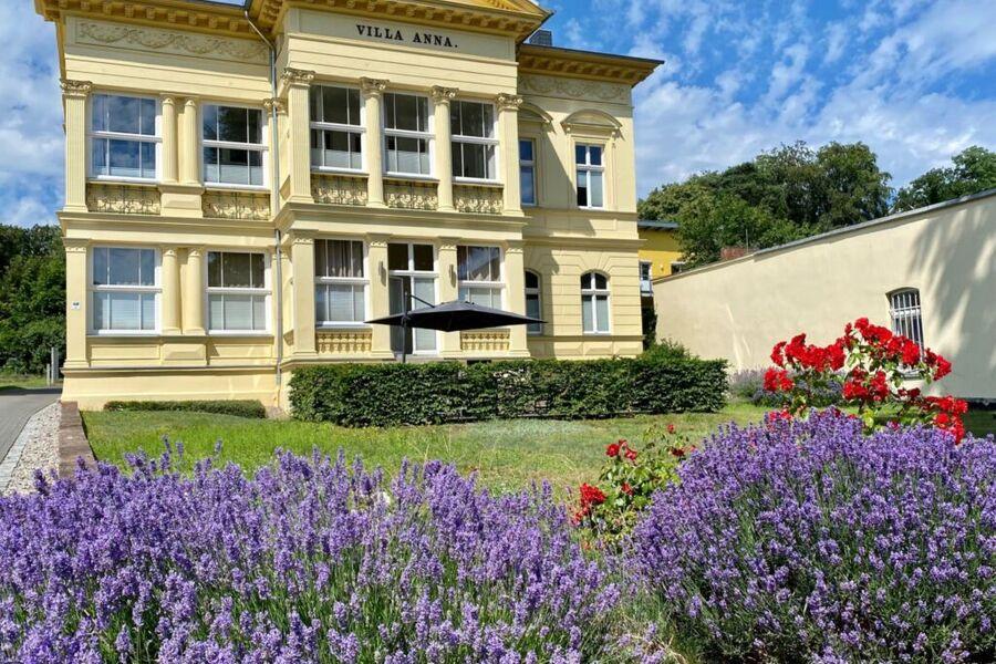 Villa Anna mit neuer Fassade