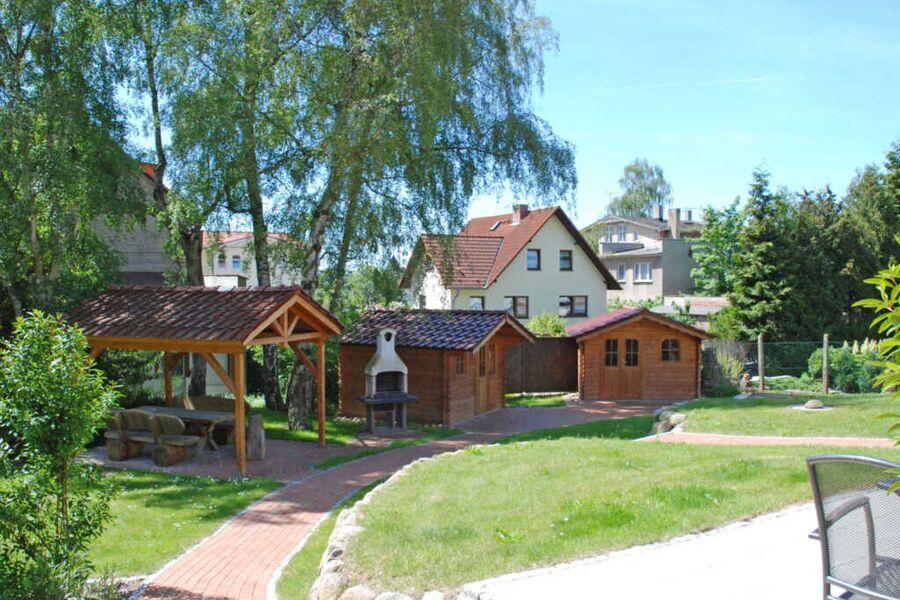 Villa am Meer im Ostseebad Sellin Hausansicht