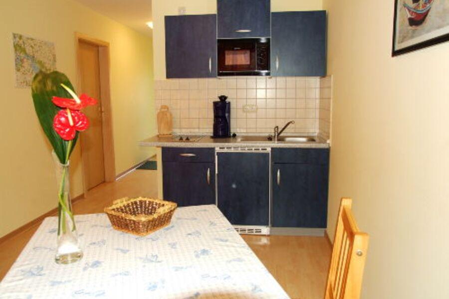 Die Küchen mit seeseitigem Balkon