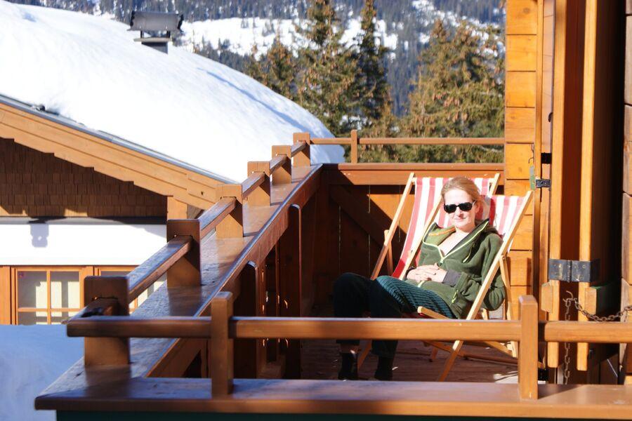 Sonne am Balkon