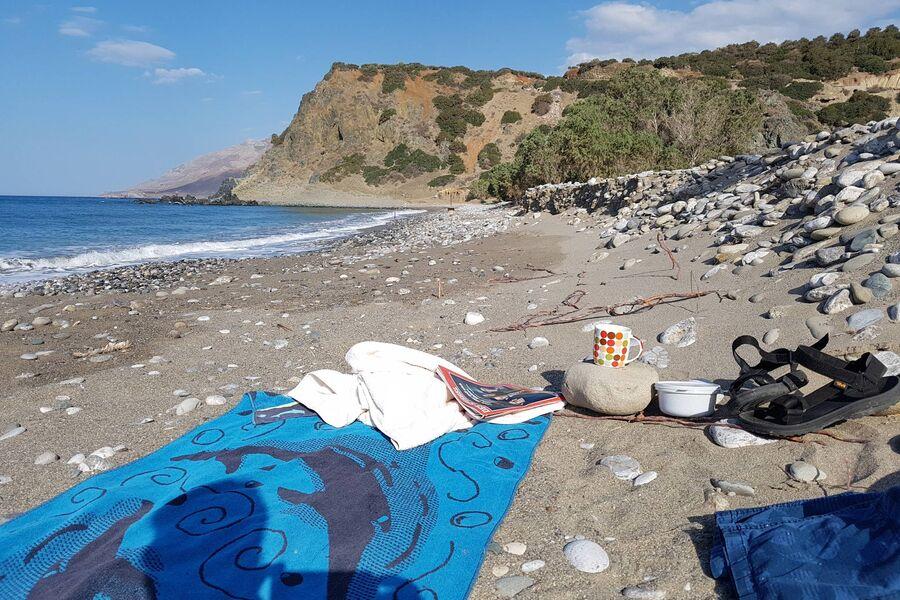 Dermatos beach