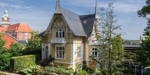 Gelbe Villa auf dem Museumsberg in Flensburg - kleines Detailbild