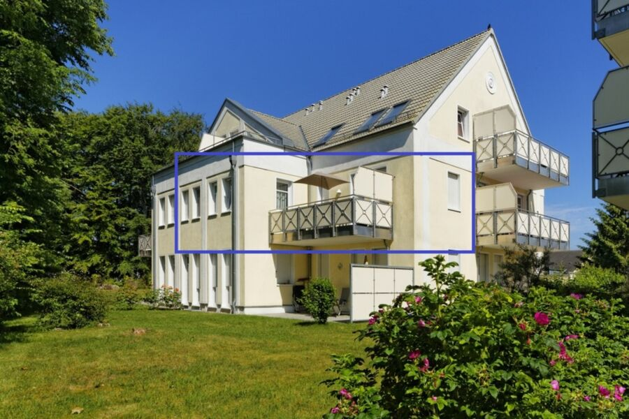 Usedomtourist Zinnowitz  Dünenwald -18  'Blaue Lag