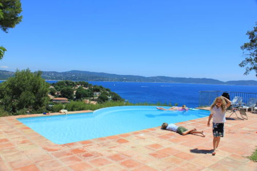 Villa in bester Lage in Cavalaire