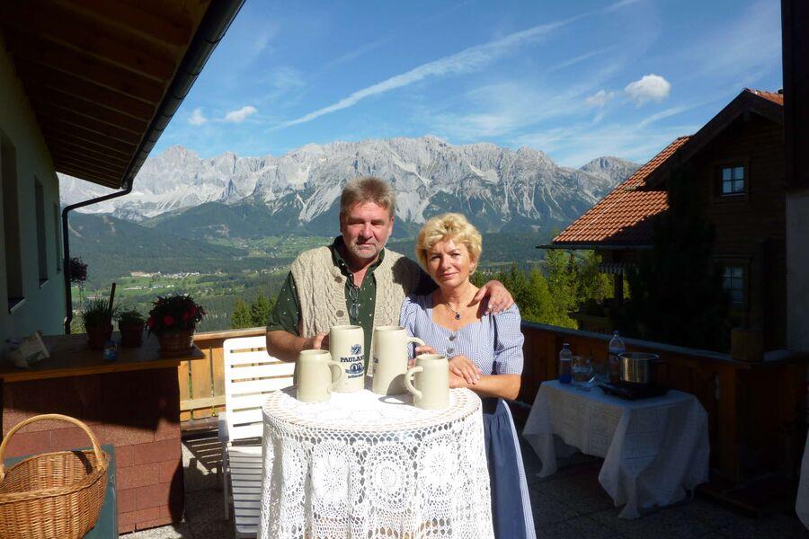 Ihre Gastgeber Renate und Karl Rigl